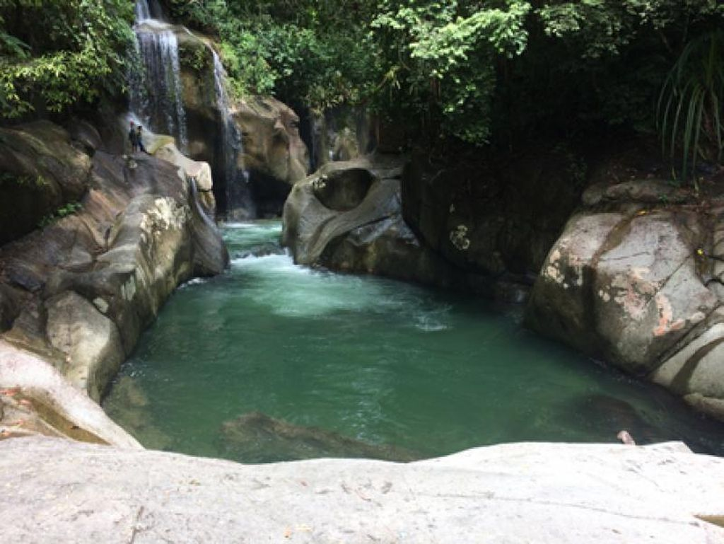 Air Terjun Nyarai, Kolam Alami cantik di Sumatera Barat