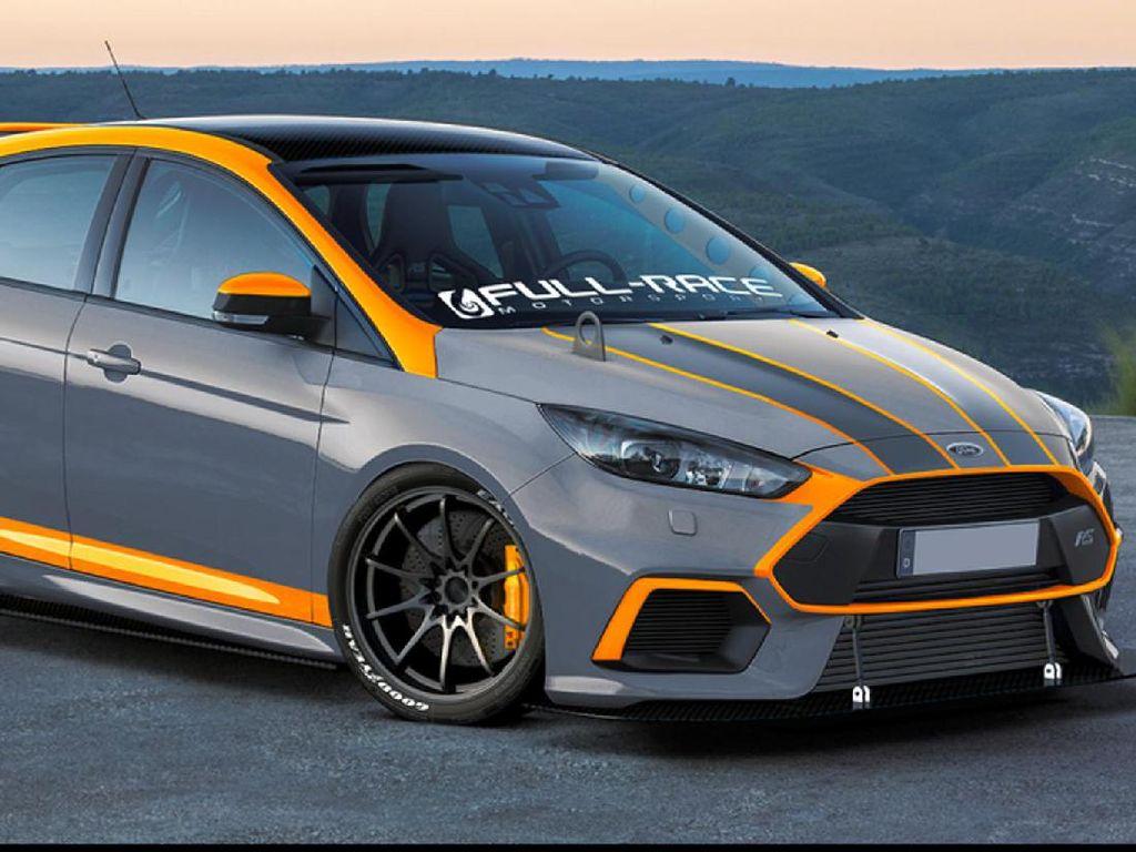 Modifikasi Hatchback Ford untuk Dipajang di SEMA