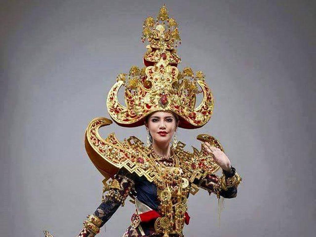 Selain Menang Miss Grand International, Indonesia Juga Juara Kostum Nasional