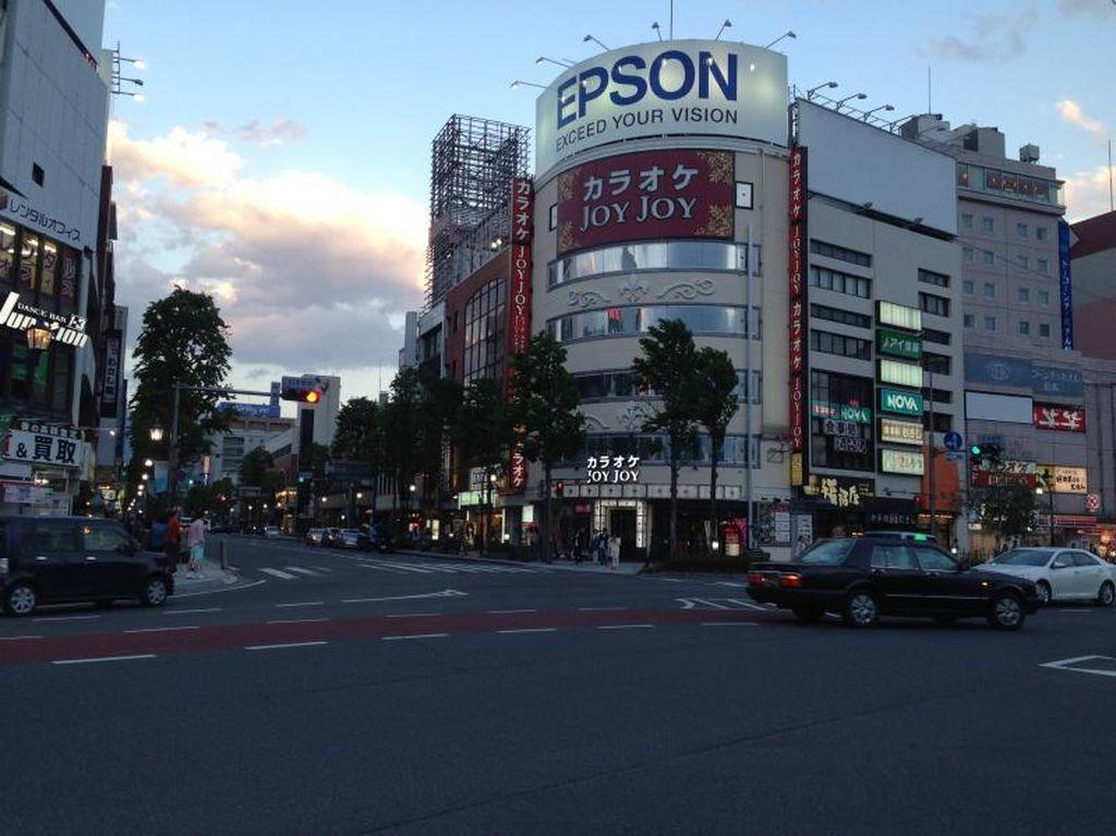 Sore yang Damai di Tokyo