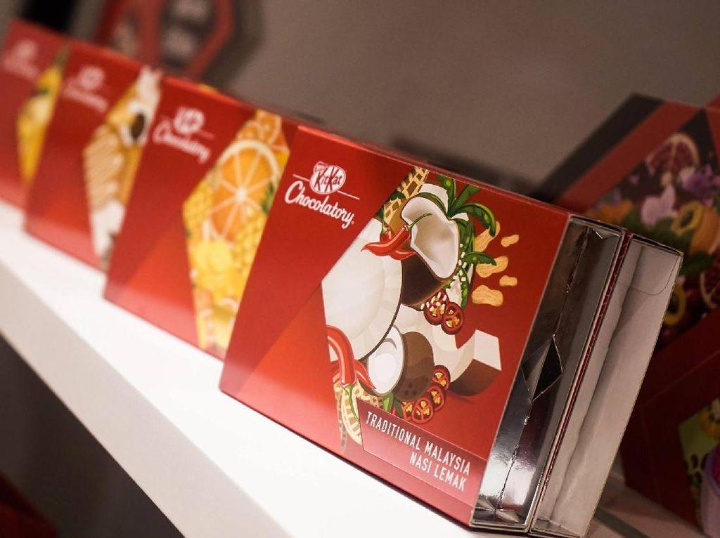 KitKat Rasa Nasi Lemak dan Durian Diperkenalkan Pertama Kali di Kuala Lumpur