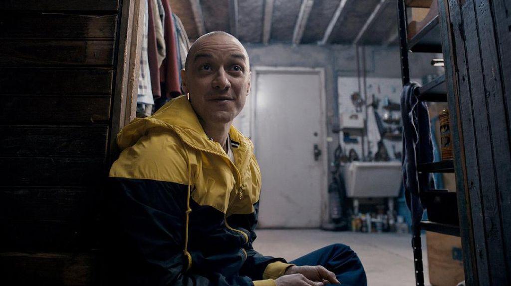 James McAcoy Berkepribadian Ganda di Trailer 'Split'