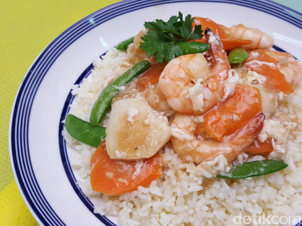 Resep Nasi: Nasi Goreng Siram