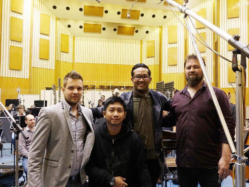 Intip Proses Rekaman SamSonS di Budapest
