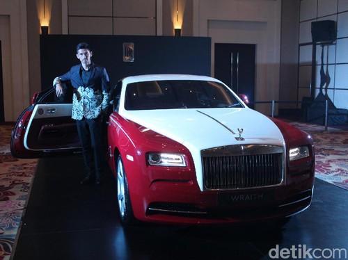 Dahsyat, Peringati Sumpah Pemuda Rolls-Royce Buat Mobil Spesial untuk Indonesia