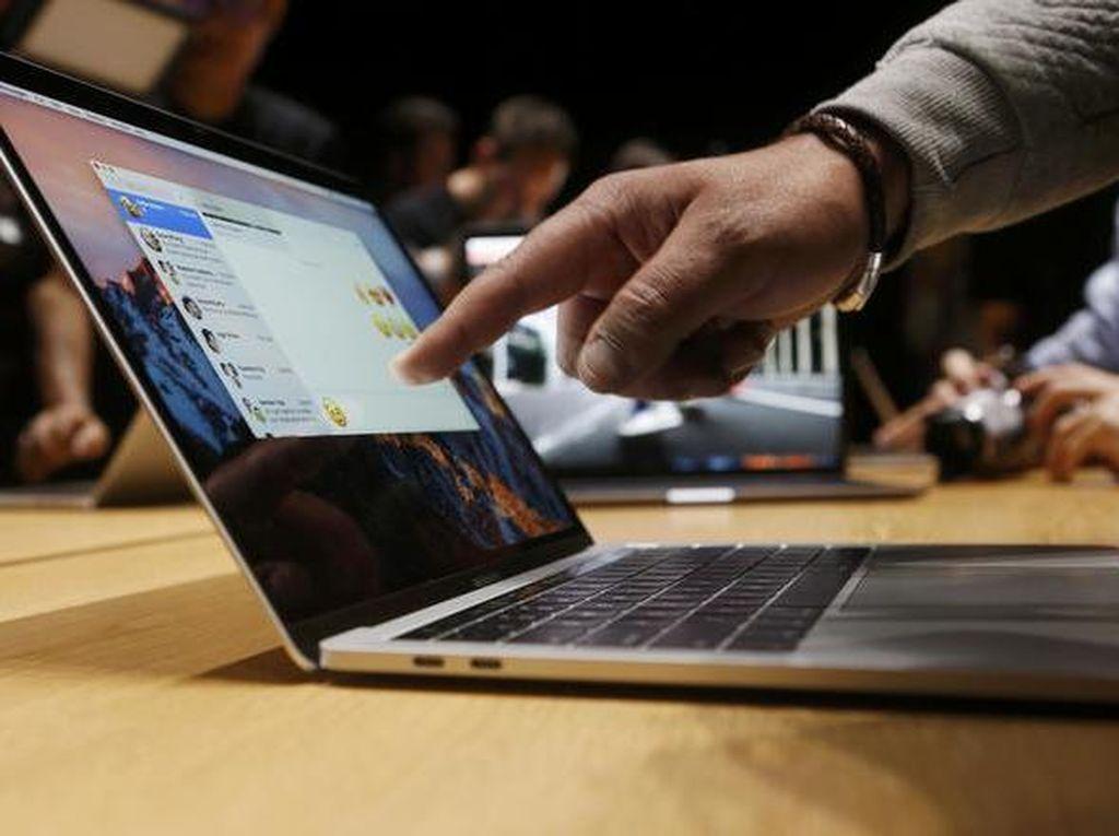 Cantiknya MacBook Pro + Touch Bar, Laptop Rp 23 Juta