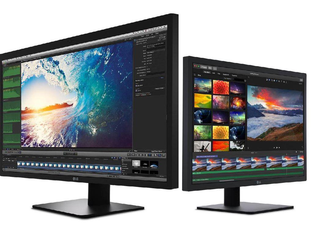 Monitor 5K LG Dibuat Khusus Buat MacBook Pro