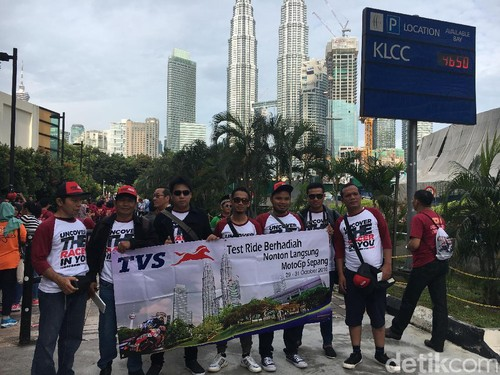TVS Ajak Penggila Apache Nonton MotoGP Di Sepang