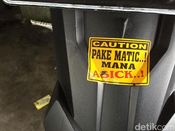 'Pake Matic Mana Asick'
