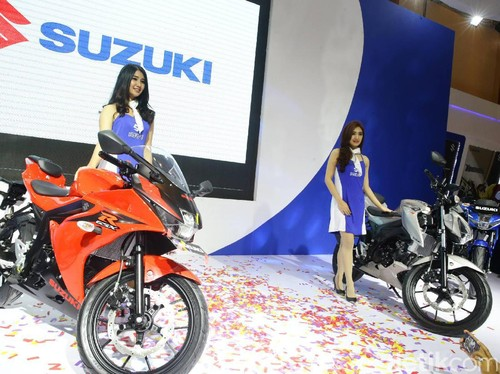 Terpesan 300 Unit, Suzuki GSX-R 150 Dan GSX-S 150 Dikirim Awal 2017