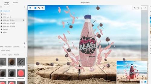 Adobe Project Felix Permudah Pembuatan 3D
