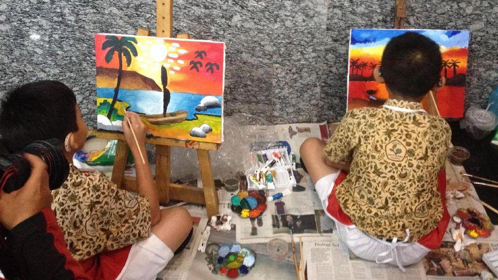 Lihat Yuk Lukisan Cantik Para Penyandang Disabilitas