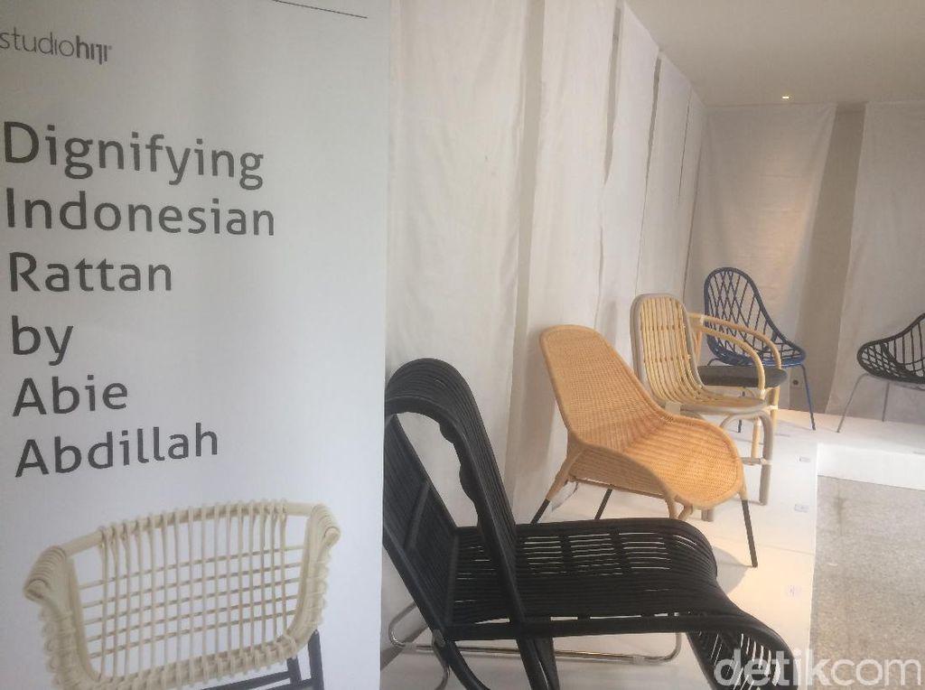 Ini Kursi Rotan Buatan Indonesia yang Go International Hingga Italia