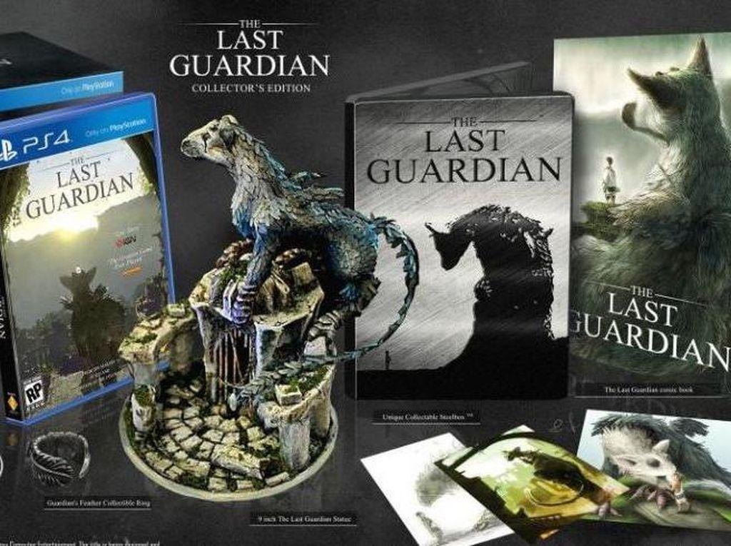 Membongkar Isi Edisi Kolektor The Last Guardian