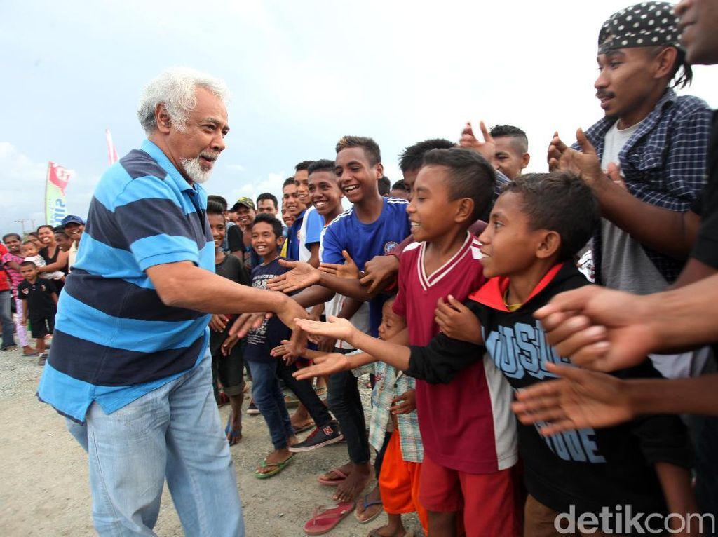Xanana Gusmao Hadiri Pertandingan Persahabatan Sepak Bola