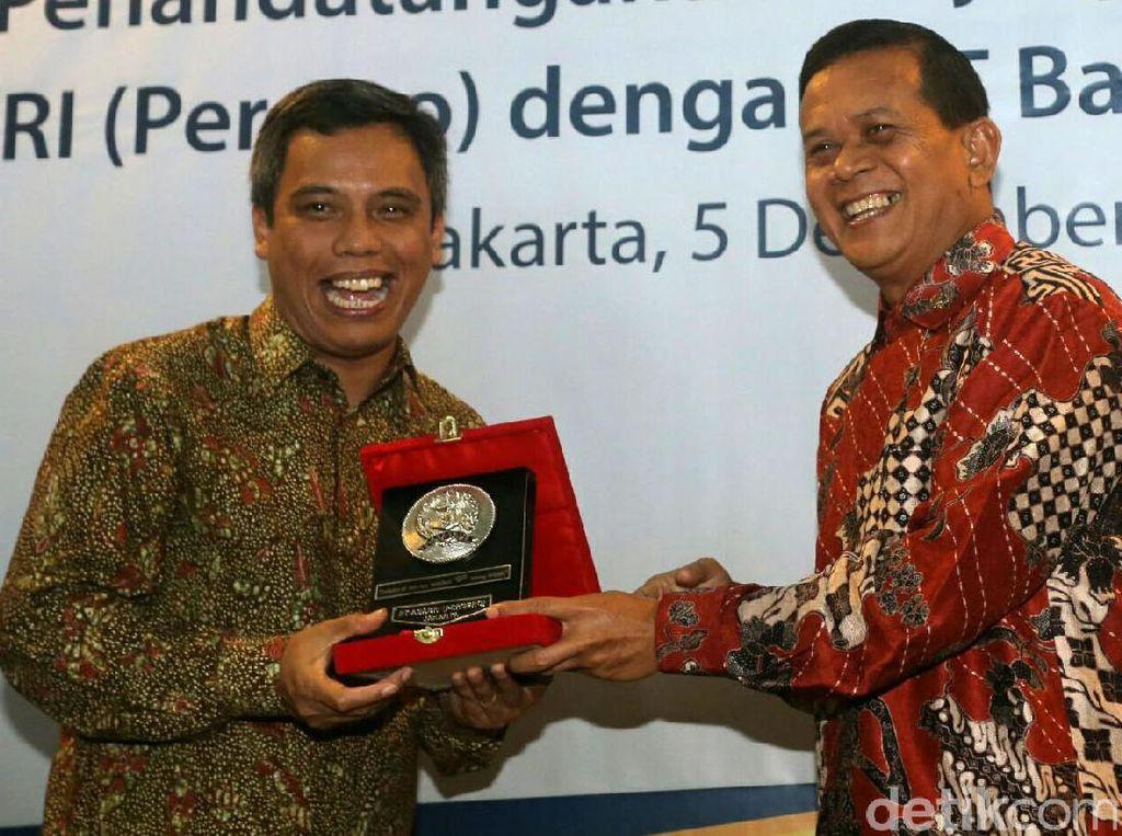 Bank Mantap-ASABRI Layani Pensiunan TNI Polri