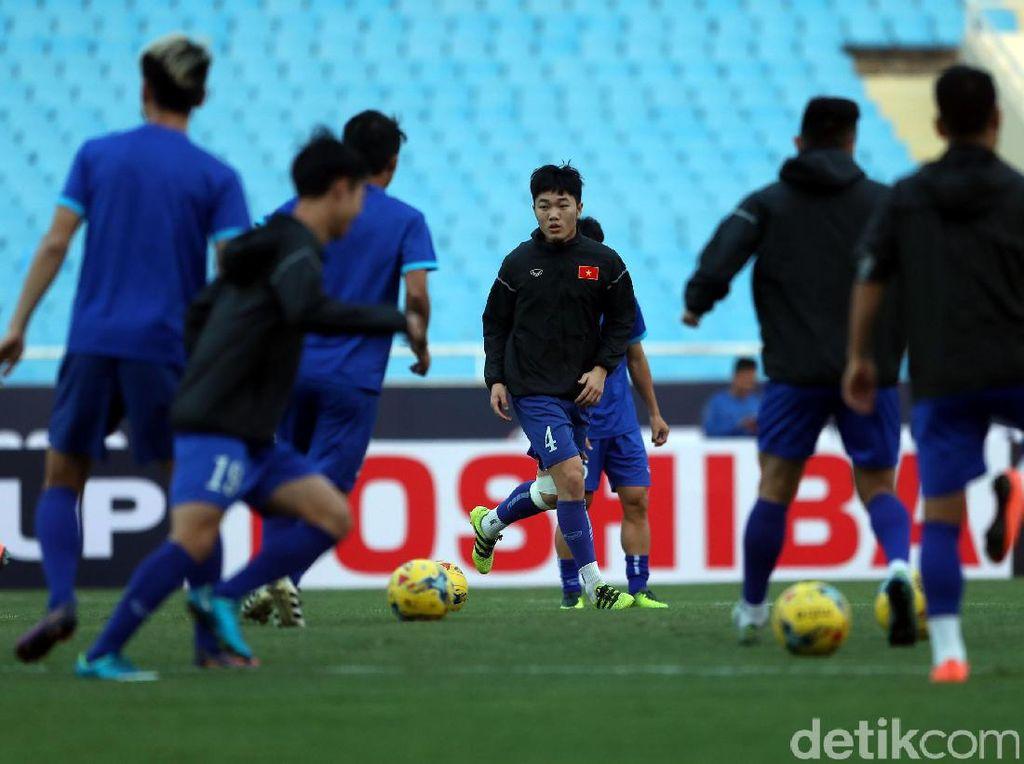 Mengintip Latihan Timnas Vietnam