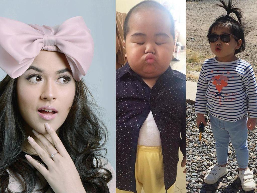 Cantiknya Raisa dengan Big Bow Turban, Balita Lucu Idola di Jejaring Sosial