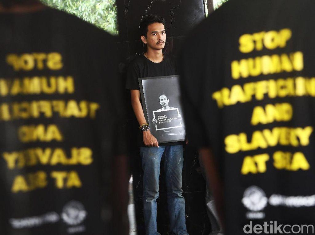 Aksi Lindungi Buruh Migran ABK Indonesia