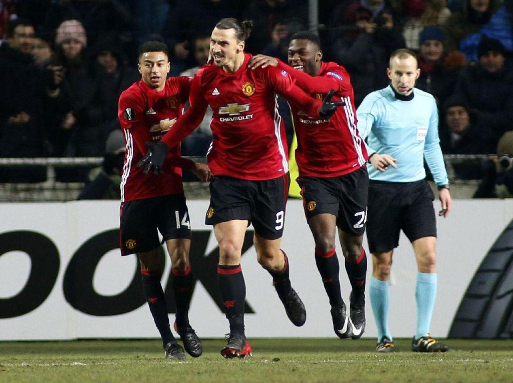 MU Lolos ke Babak 32 Besar Liga Europa