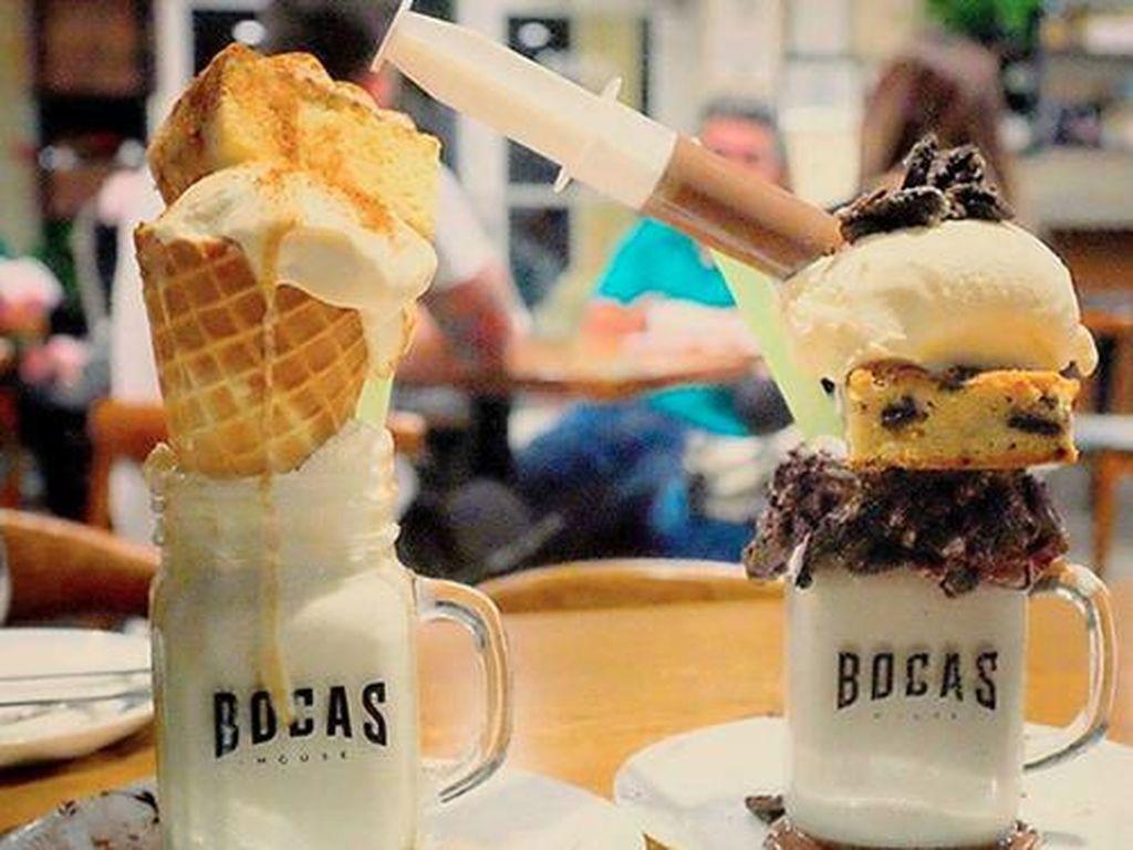 Milkshake dengan Tumpukan Cake hingga Lollipop Kini Jadi Tren di Amerika