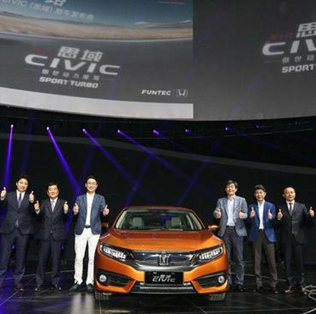 Honda Bangun Pabrik Ketiga di China