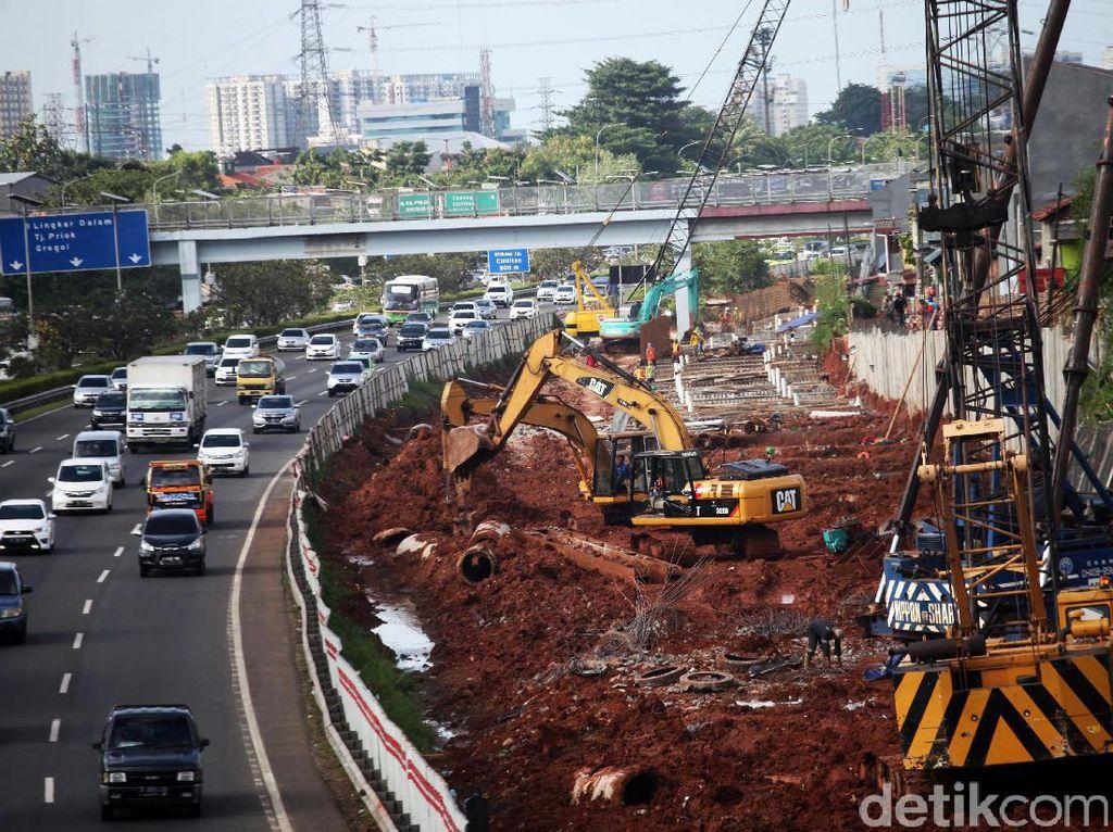 Pembangunan LRT Cibubur-Cawang Terus Dikebut