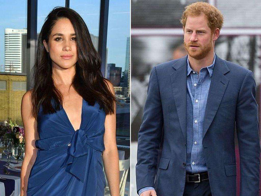 Ini Perjalanan Cinta Pangeran Harry dan Meghan Markle