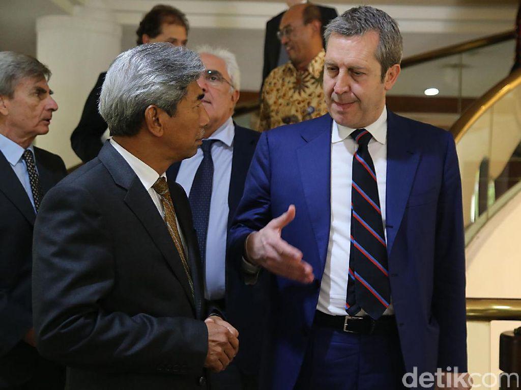 RI dan Italia Pererat Hubungan Kedua Negara