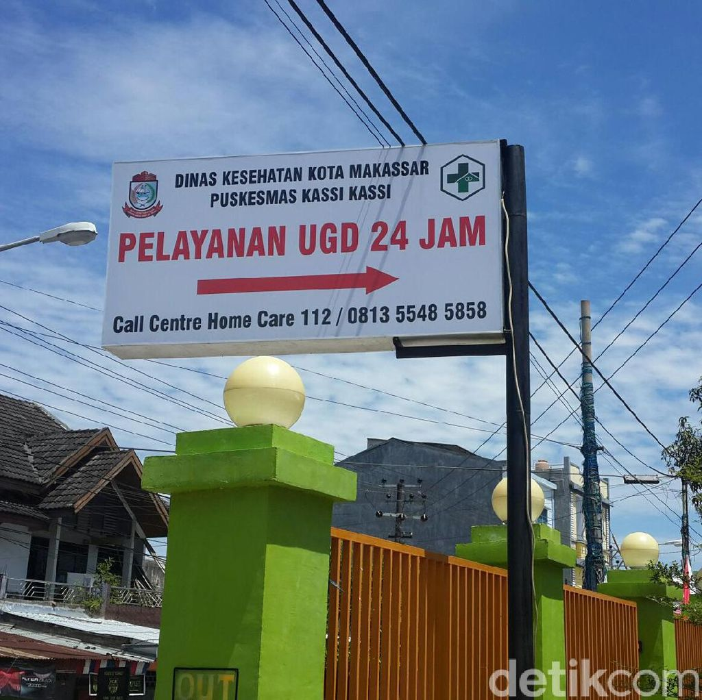 Di Makassar, 86 Persen Pelayanan Puskesmas Dilakukan di Rumah