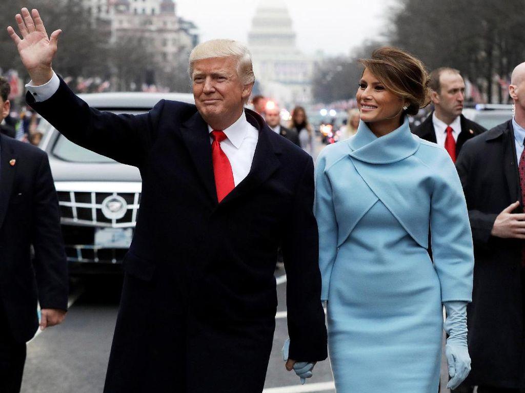 Parade Donald Trump ke Gedung Putih