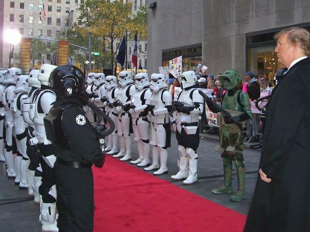 Netizen Sindir Trump Lewat Meme Star Wars