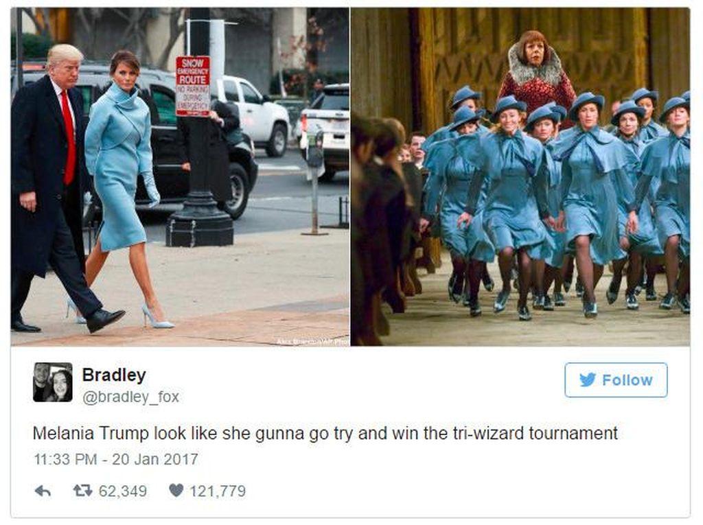 Meme Kocak yang Tersisa dari Pelantikan Donald Trump