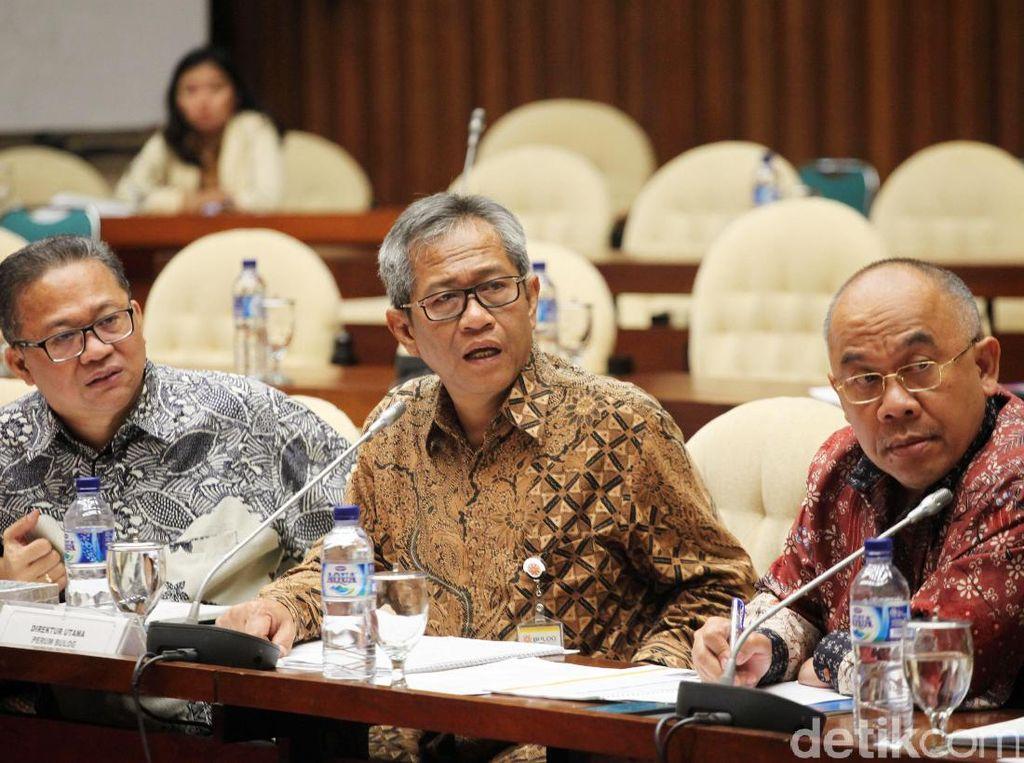 Dirut Bulog Rapat Dengan Komisi IV DPR