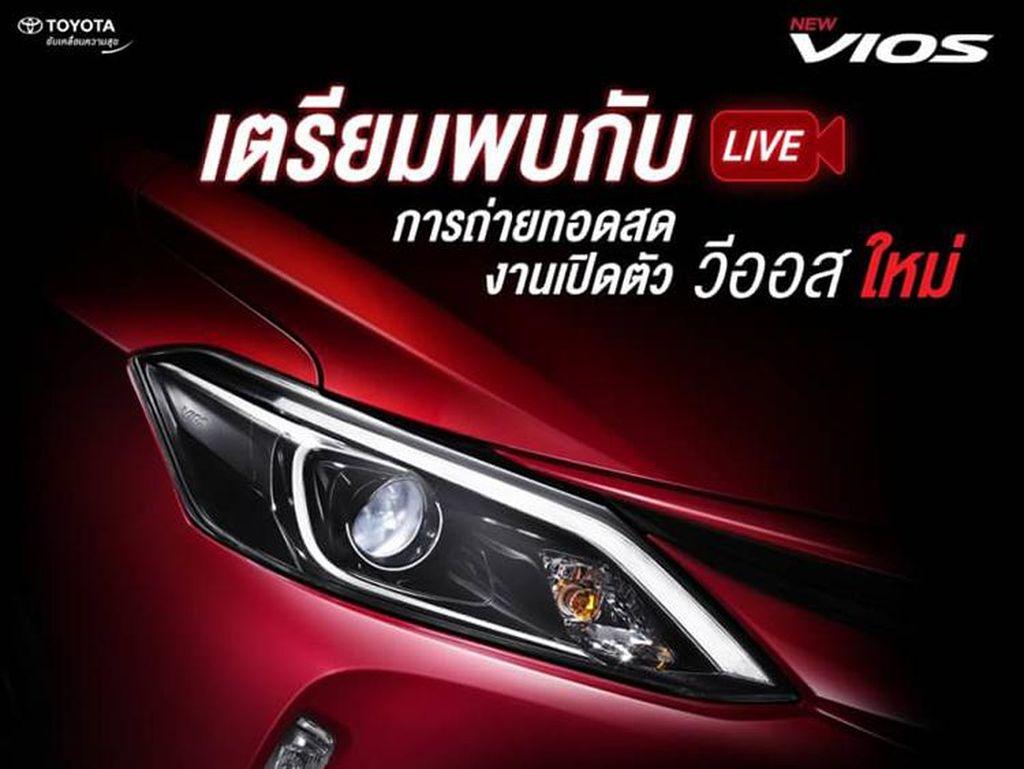 Toyota Vios Terbaru di Thailand