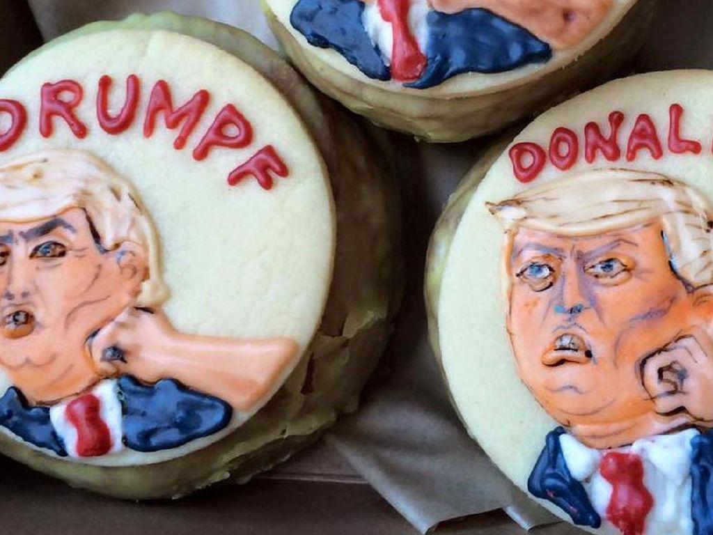 Pelantikan Presiden AS Dirayakan Lewat Makanan Bertema Donald Trump (1)