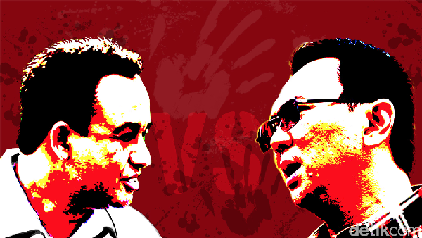 Peta Koalisi Ahok VS Anies