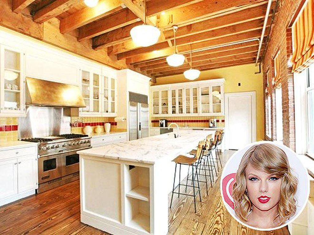 Dapur Cantik Taylor Swift dan Trik Bikin Kentang Goreng yang Renyah
