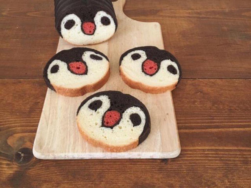 Wouw! Jika Dipotong Roti Ini Jadi Bentuk Semangka hingga Penguin