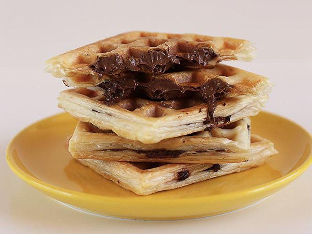 Nyam! Ini Croffle, Croissant Bentuk Waffle yang Gurih Renyah