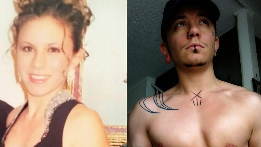 Foto Transformasi Wanita Jadi Pria Lewat Terapi Hormon