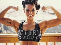 Biasanya untuk mendapatkan otot yang ekstra besar seorang body builder wanita membutuhkan tambahan steroid anabolik (testosteron sintetis) untuk membangun massa ototnya. (Foto: Instagram/female_bodybuilders)
