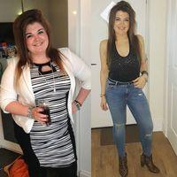 Chloe saja bisa menurunkan berat badan dengan angka yang luar biasa secara alami, masa kamu enggak? (Foto: Instagram/healthyfit_chloe)