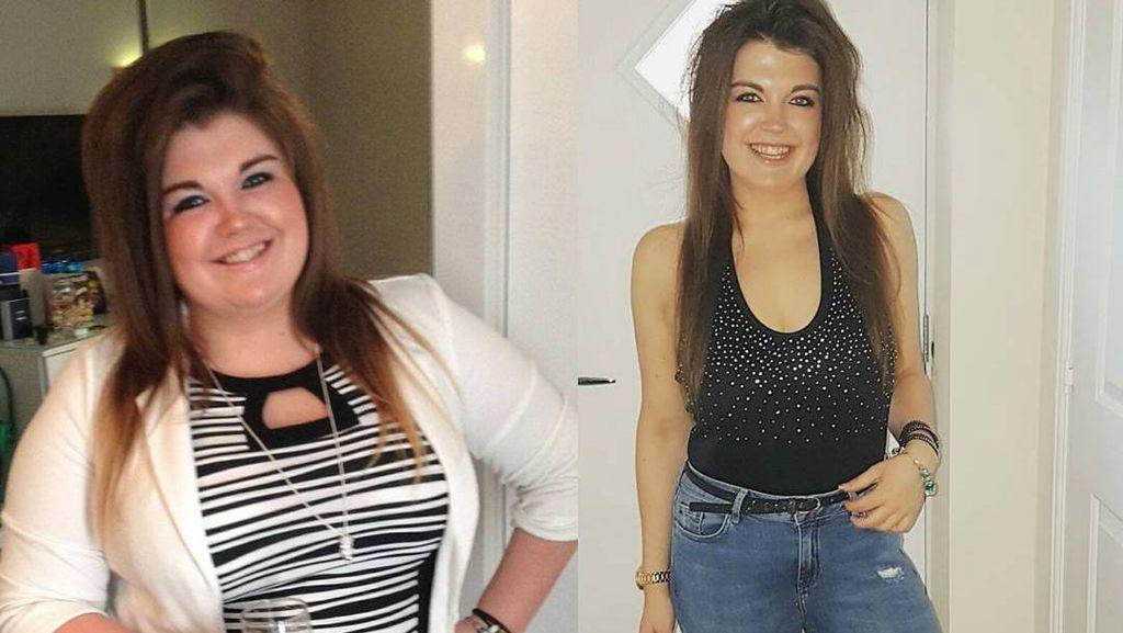 Foto: Transformasi Mencengangkan! Tanpa Diet, Berat Badan Turun 50Kg