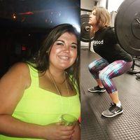 Perjuangan menurunkan berat badan tidaklah mudah, ia harus berjuang setiap hari untuk merealisasikannya. (Foto: Instagram/healthyfit_chloe)