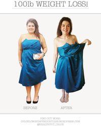 Ia termotivasi untuk menurunkan berat badan karena gaun untuknya tidak muat di tubuhnya yang besar. (Foto: Instagram/healthyfit_chloe)