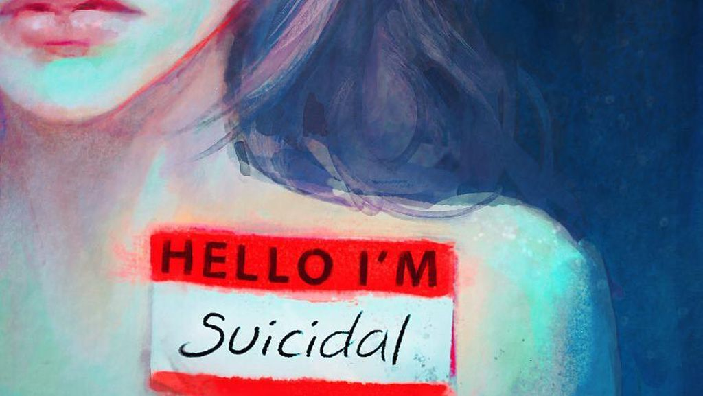 Foto: Ekspresifnya Karya Seni Seorang Pengidap Depresi