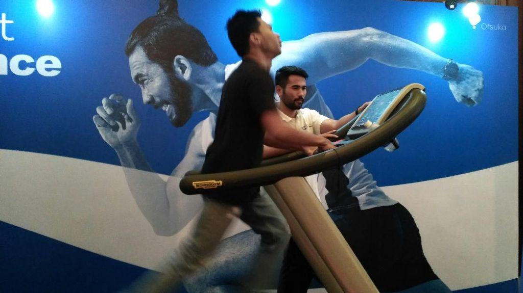 Foto: Uji Kebugaran, Menjajal Lari dengan Kecepatan Atlet Profesional